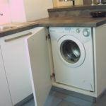 Zabudowa pralki - meble kuchenne nazamówienie