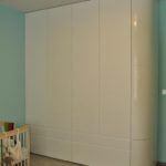 Szafa nawymiar - biała garderoba