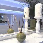 Dekoracje łazienkowe - projekt Questaform