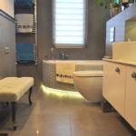 Szara łazienka - aranżacja Questaform