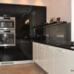Czarno-biała kuchnia -projekt Questaform