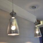 Lampy w łazience