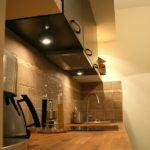 Drewniany blat w kuchni na wymiar