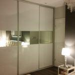 Garderoba nawymiar - aranżacja sypialni